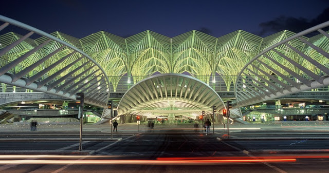 Oriente train station in Lisbon