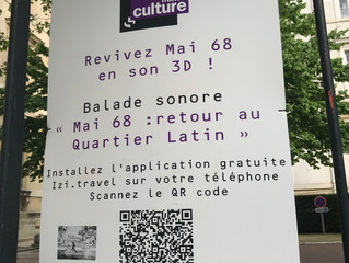 Mai 68: un dispositif immersif de médiation culturelle