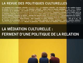 La médiation culturelle : ferment d'une politique de la relation
