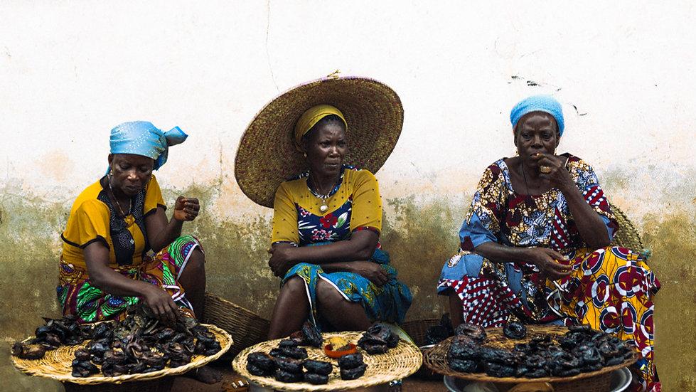 Food Market of Zinvié