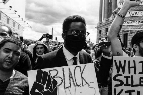 Black Lives Matter / Place de la Concorde