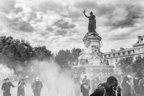 Black Lives Matter - Place de la Republique