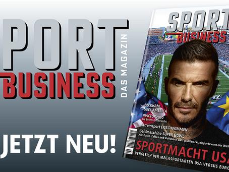 Sport Business Magazin: 104 Seiten Lesefreude für Weihnachten