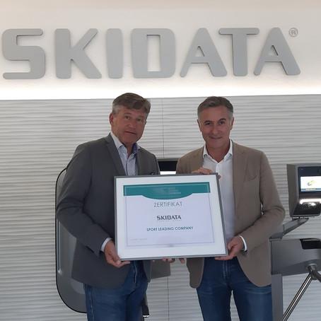 SKIDATA bleibt Sport Leading Company