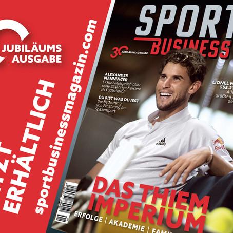 30. Ausgabe: Sport Business Magazin feiert Jubiläum