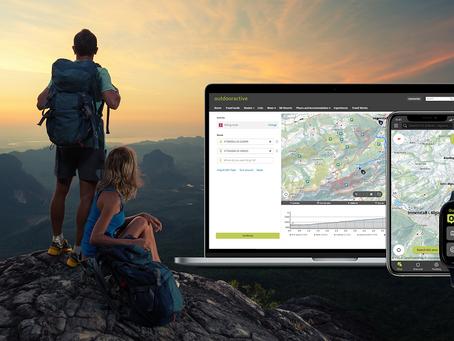Outdooractive: Auf dem Weg zur weltweit größten Outdoor-Plattform