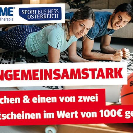 100 Euro Sport-Thieme-Gutschein: Gewinnspiel #aktiongemeinsamstark