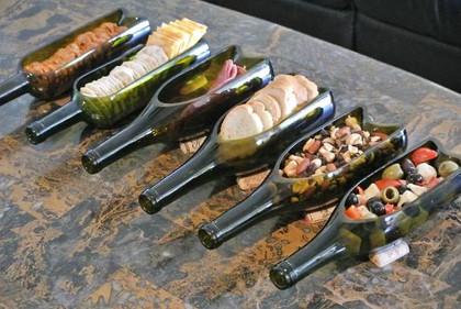 Wine Bottle Bowls