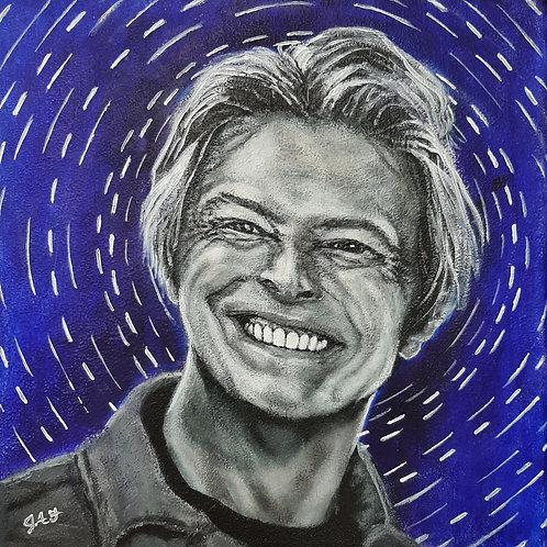 David Bowie Starman paper print