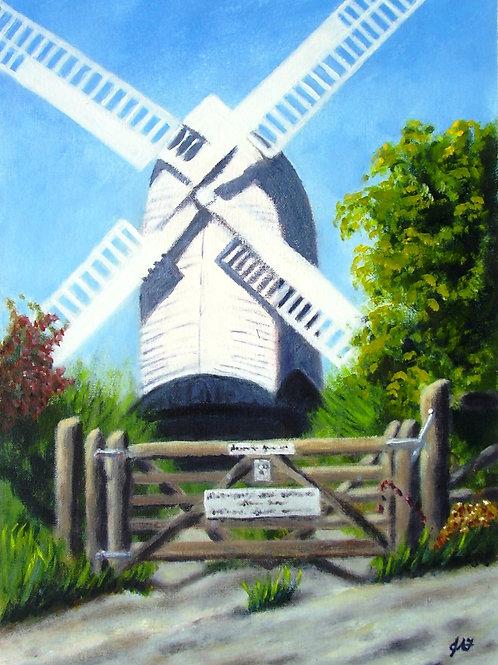 Jill Windmill at Clayton Fine Art Print