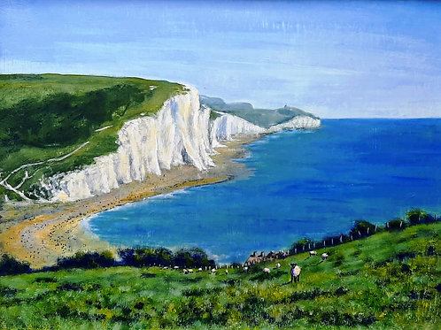 Shaun and the Seven Sisters canvas print