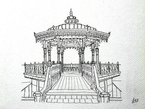 The Birdcage in Pen Original