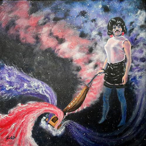 Freddie Broke Free canvas print