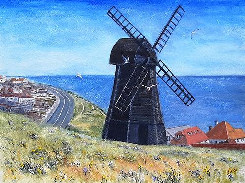 Rottingdean Windmill canvas print