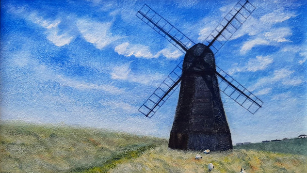 Shaun and the Windmill