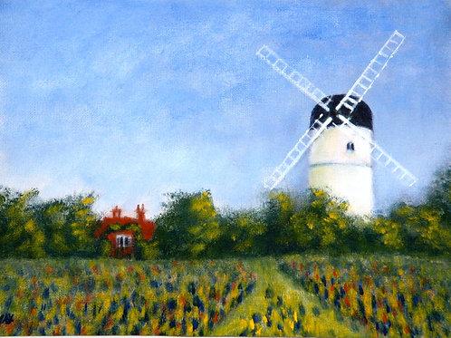 Patcham Windmill Fine Art Print