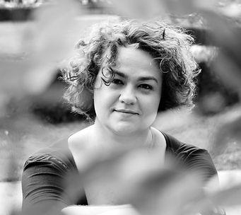 Johanna Krokovay schwarzweiß Portrait