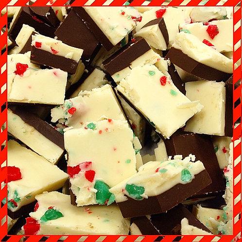 White Chocolate Mint Bark