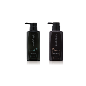 Shampoo & Treatment Bottle Design