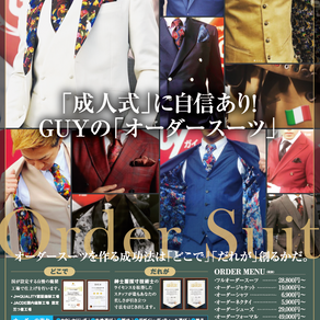 Bespoke Tailor GUY様 ラクでんねんチラシ