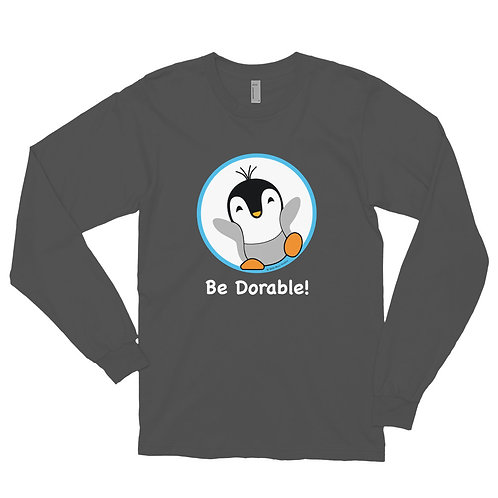 "Pauly Dorable ""Be Dorable"" Long sleeve t-shirt"