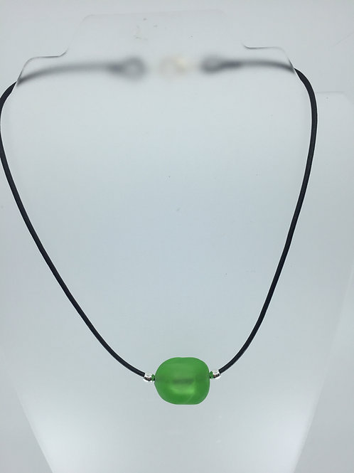 Lime Ice Cube Necklace