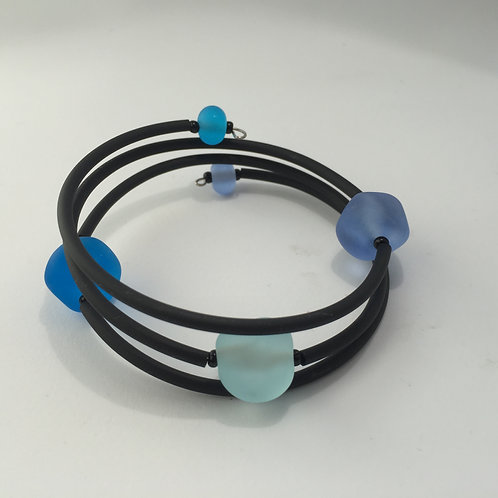 Blue Beachy Bracelet
