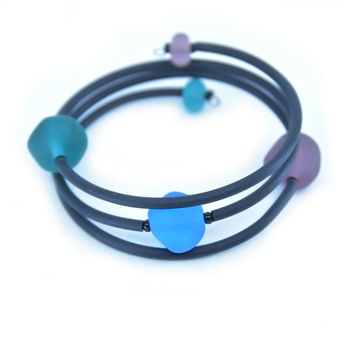 Tri-Colour Beachy Bracelet