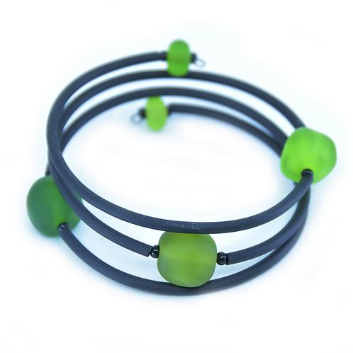 Green Beachy Bracelet
