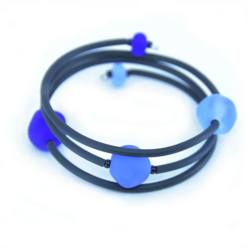 Blue Beachy Bracelet