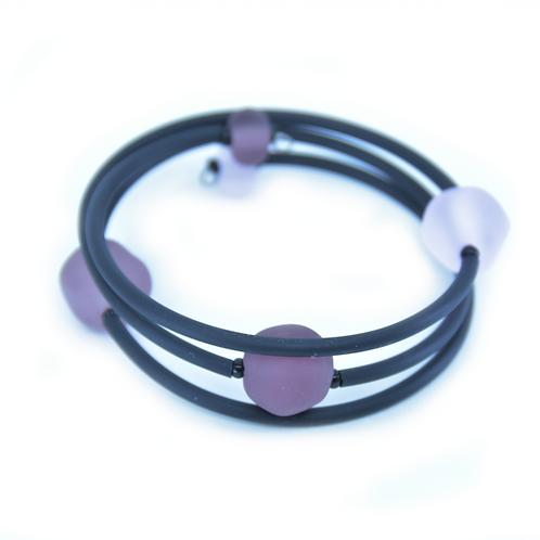 Purple Beachy Bracelet