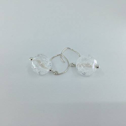 Silver Night Sky Earrings
