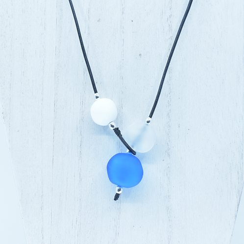 Sky and Clouds Shoreline Necklace