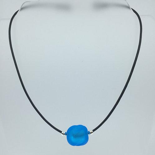 Sky Blue Ice Cube Necklace