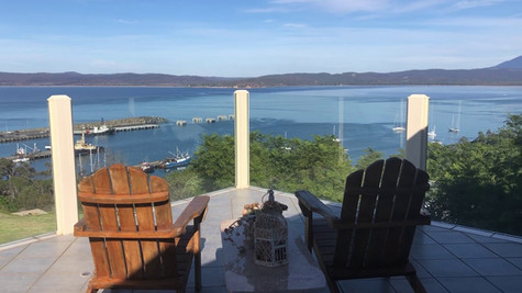 Amazing Views from the Upstairs Deck