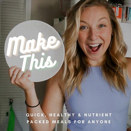 """Make This"" CookBook"
