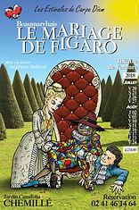 """Affiche """"Le Mariage de Figaro"""""""