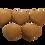 Thumbnail: Neozdobené perníčky 5 ks