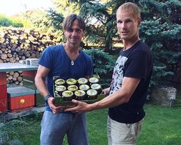 Buy Czech honey from farm Slavia Praha Jiri Novotny