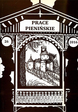 2016 -Prace Pienińskie, tom26, n. 300 egz.