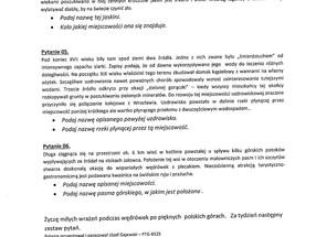 Zapraszamy w imieniu PTTK Warszawa do konkursu krajoznawczego