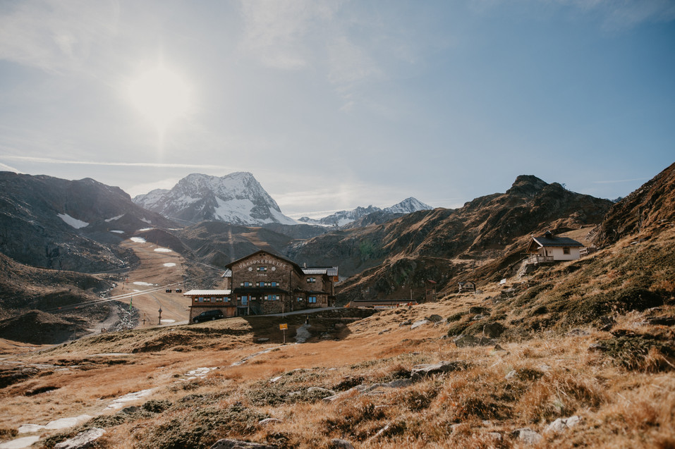 adventure wedding in the mountains