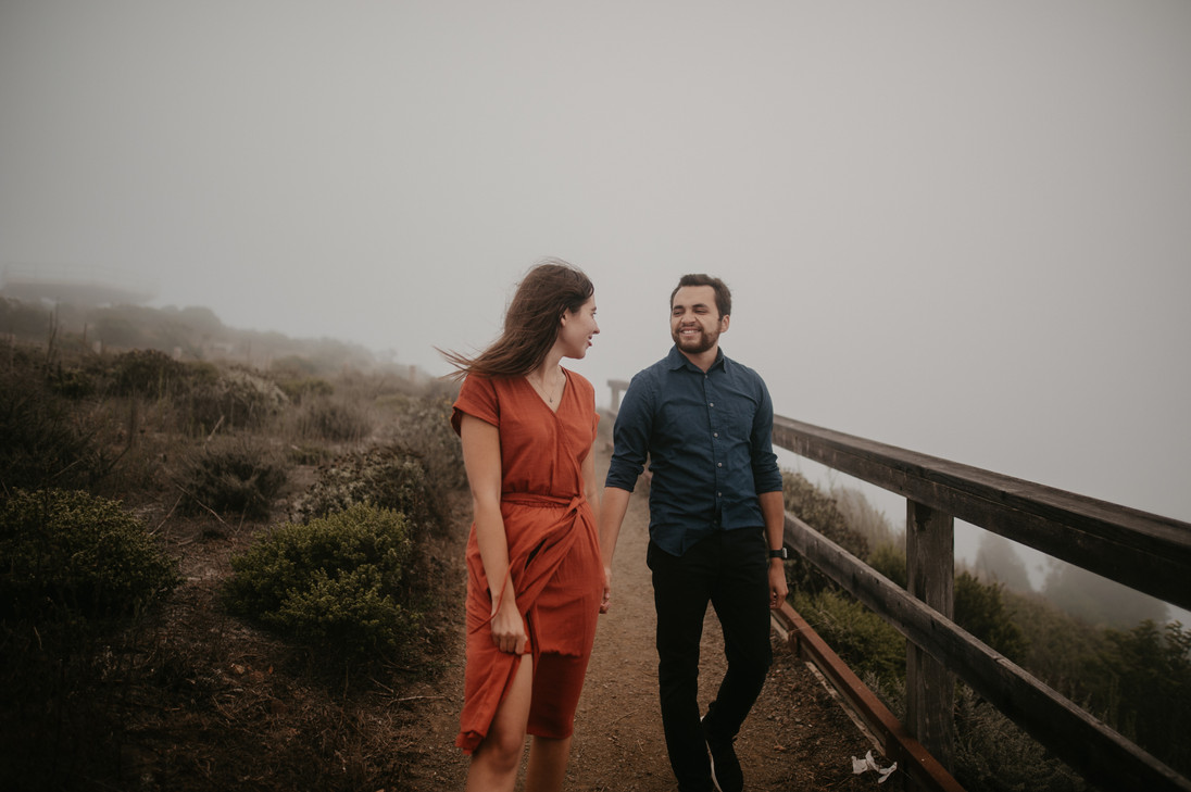 marin headlands engagement photographer