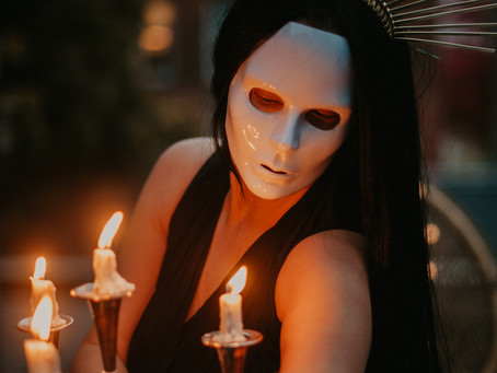 Halloween Photoshoot Ideas for Bohemian Couples