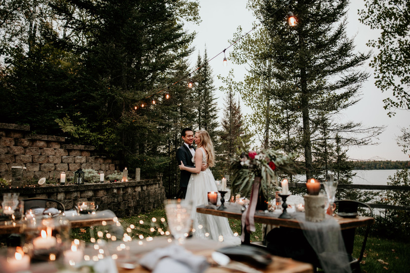 micro wedding in upper peninsula
