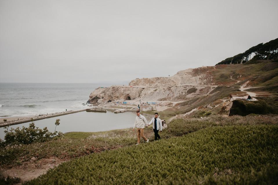 california sutro baths elopement