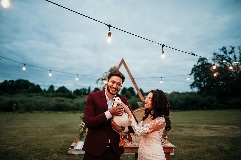 bohemian wedding in michigan
