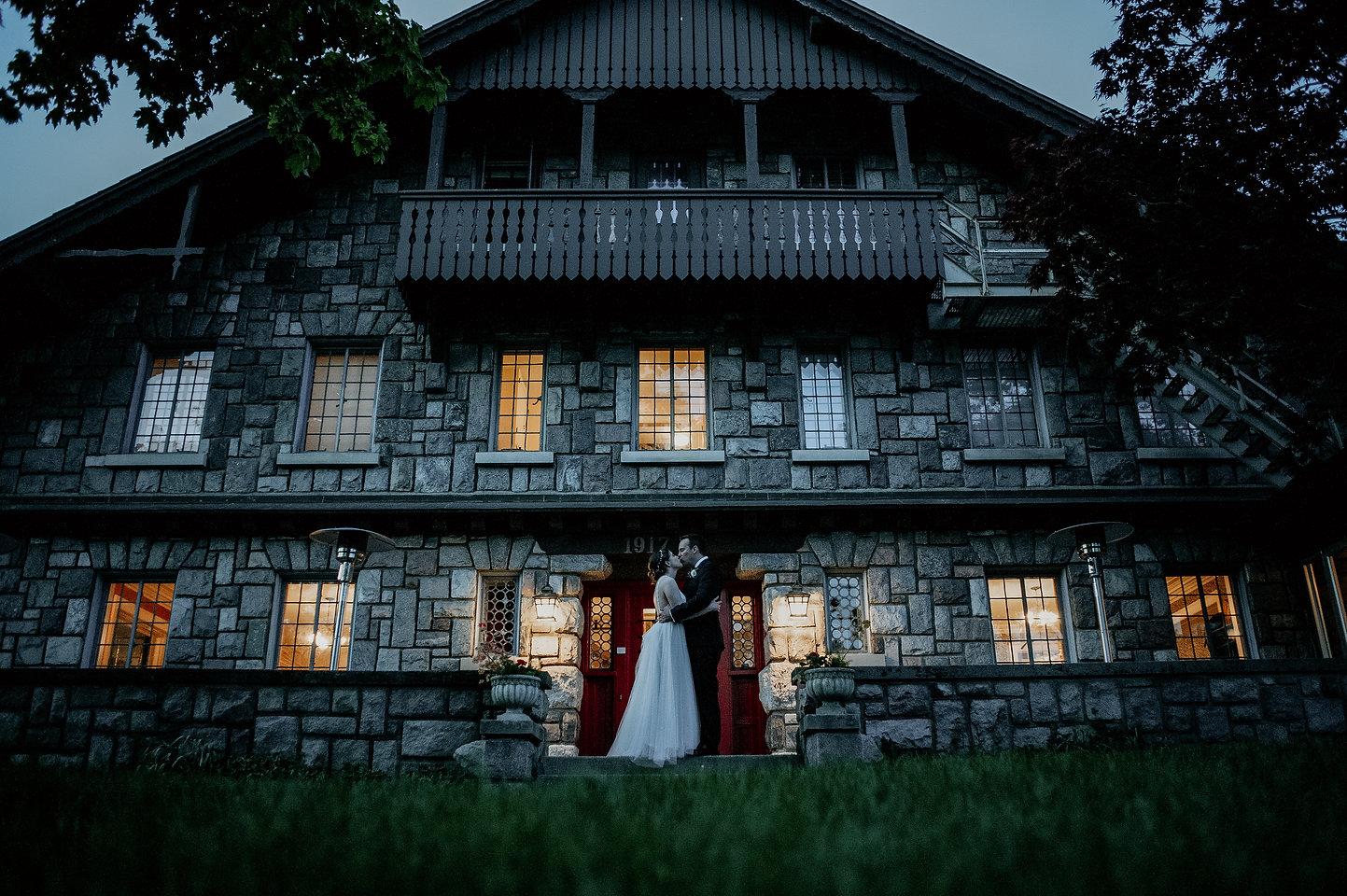 ann arbor wedding stone chalet