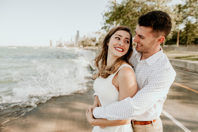 lake michigan beach elopement photographer