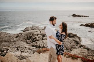 california big sur engagement photography